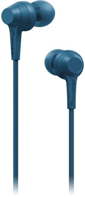 Наушники PIONEER SE-C1T-L, 3.5 мм, вкладыши, синий