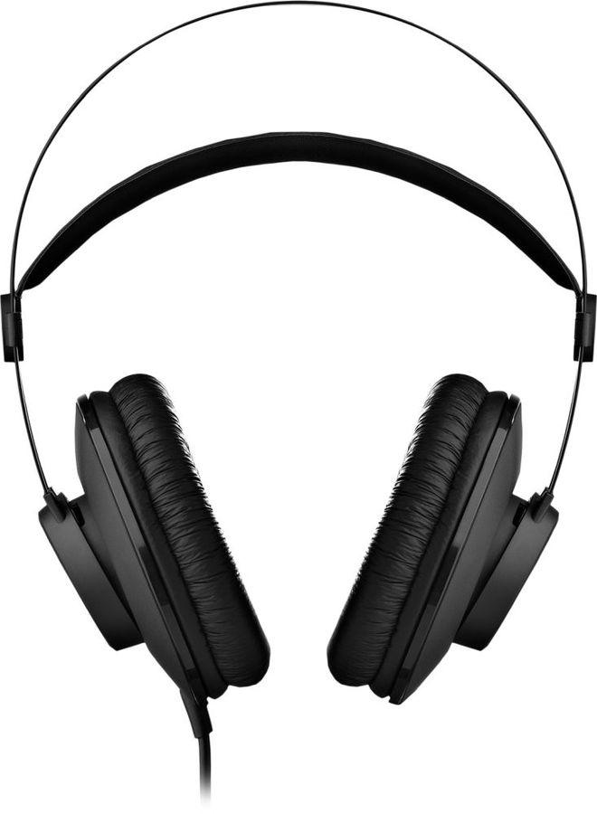 Наушники AKG K52, 3.5 мм, мониторы, черный [3169h00010]