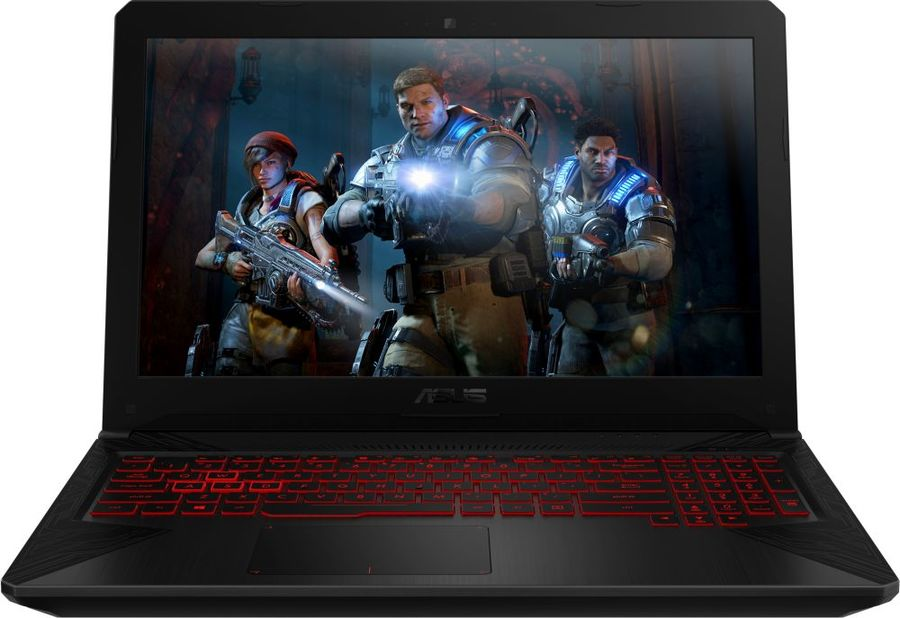 "Ноутбук ASUS TUF Gaming FX504GD-E41071, 15.6"",  IPS, Intel  Core i5  8300H 2.3ГГц, 8Гб, 256Гб SSD,  nVidia GeForce  GTX 1050 - 2048 Мб, noOS, 90NR00J3-M18960,  серый"