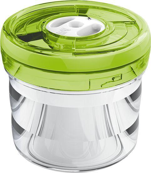Контейнер Zepter VacSy VS-013-12S цилинд. 1.1л. стекло зеленый