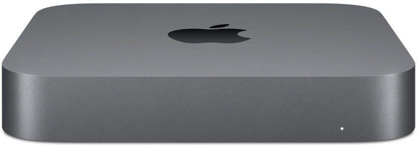 Компьютер  APPLE Mac mini MRTT2RU/A,  Intel  Core i5  8500,  DDR4 8Гб, 256Гб(SSD),  Intel UHD Graphics 630,  Mac OS,  темно-серый