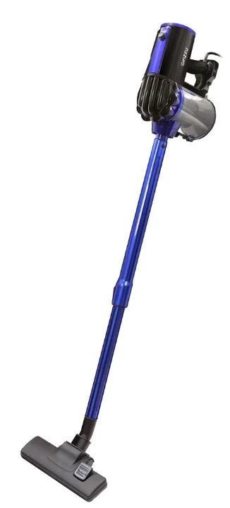 Ручной пылесос GINZZU VS117, 700Вт, черный/синий
