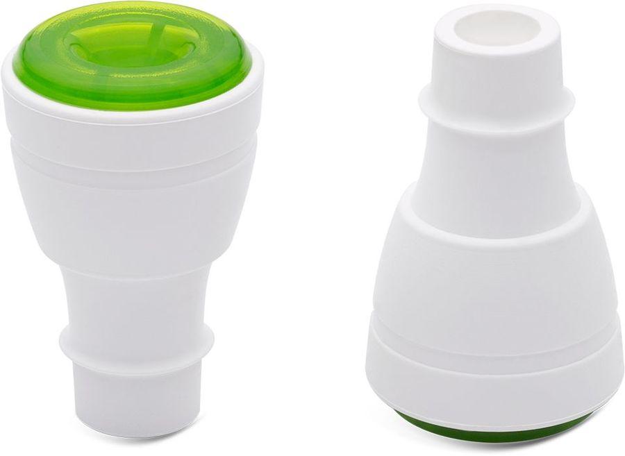 Пробка для бутылок Zepter VacSy VS-016 зеленый наб.:2предм.