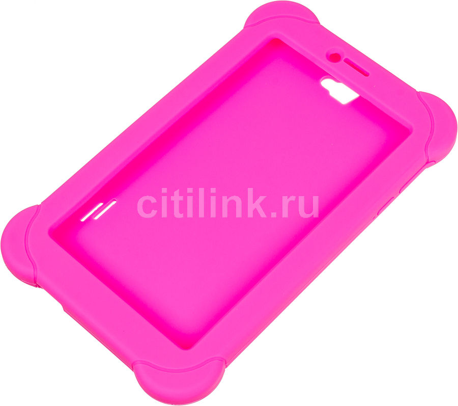 Чехол для планшета DIGMA розовый, для  Digma Plane 7565N