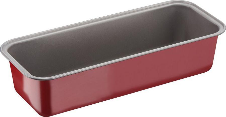 Форма для выпечки Tefal DeliBake J1640174 прямоуг. сталь углеродистая красный (2100105376)