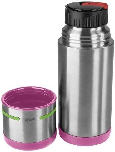Термос EMSA 515863, 0.35л, розовый/ зеленый