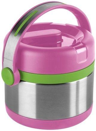 Термос EMSA 515861, 0.65л, розовый/ зеленый