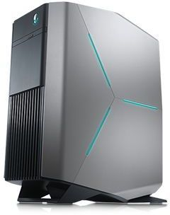 Компьютер  ALIENWARE Aurora R8,  Intel  Core i7  8700,  DDR4 16Гб, 2Тб,  256Гб(SSD),  NVIDIA GeForce GTX 1070 - 8192 Мб,  DVD-RW,  Windows 10 Home,  черный и серебристый [r8-9072]