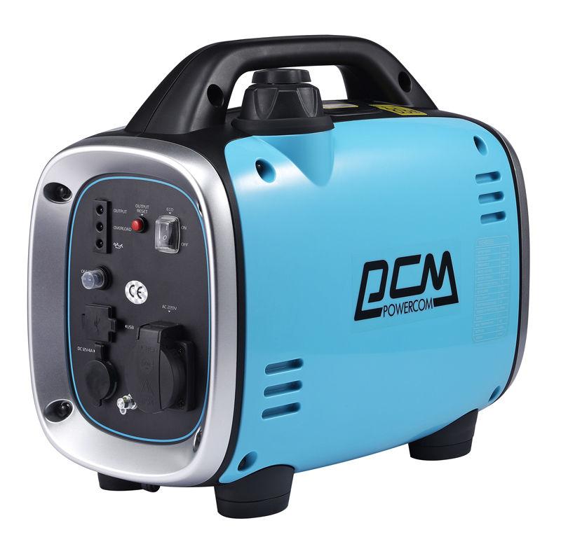 Бензиновый генератор POWERCOM ING-800GS,  220 В,  0.8кВт