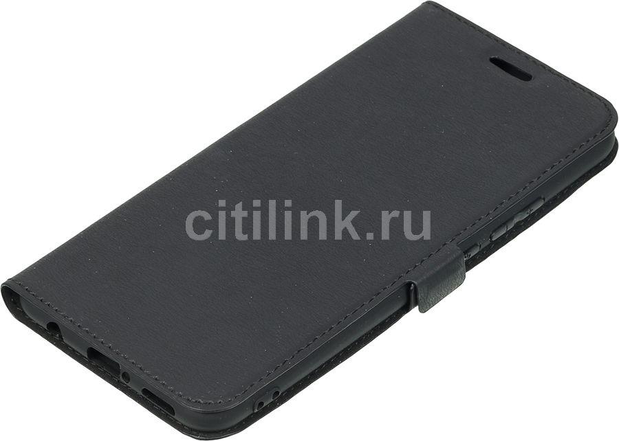 Чехол (флип-кейс) DF hwFlip-46, для Huawei Nova 3i, черный