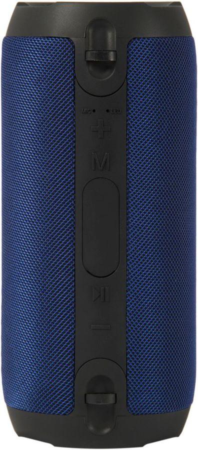 Портативная колонка DENN DBS IPX405,  10Вт, синий  / черный