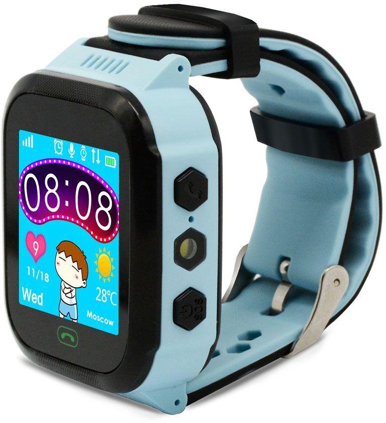 "Смарт-часы GINZZU GZ-502,  1.44"",  голубой / голубой [00-00001272]"