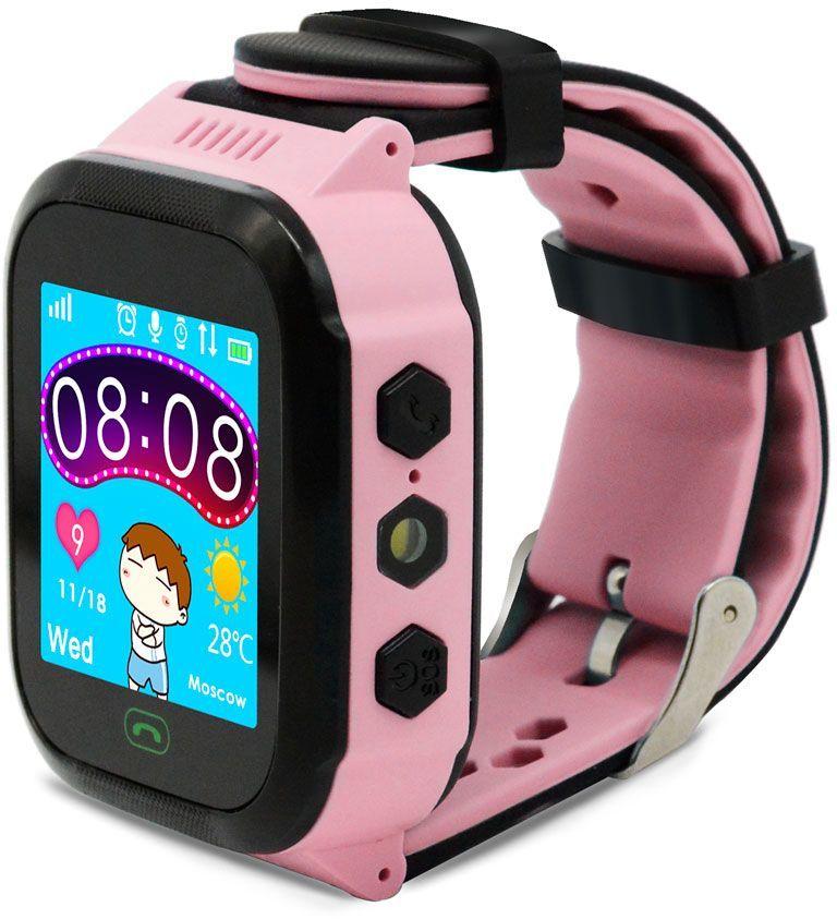 "Смарт-часы GINZZU GZ-502,  1.44"",  розовый / розовый [00-00001273]"