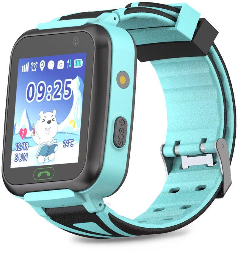 "Смарт-часы GINZZU GZ-509,  1.44"",  голубой / голубой [00-00001275]"