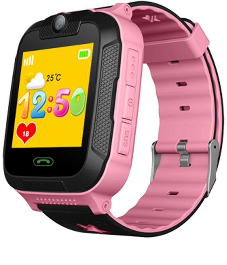 "Смарт-часы GINZZU GZ-751,  1.4"",  розовый / розовый [00-00001278]"