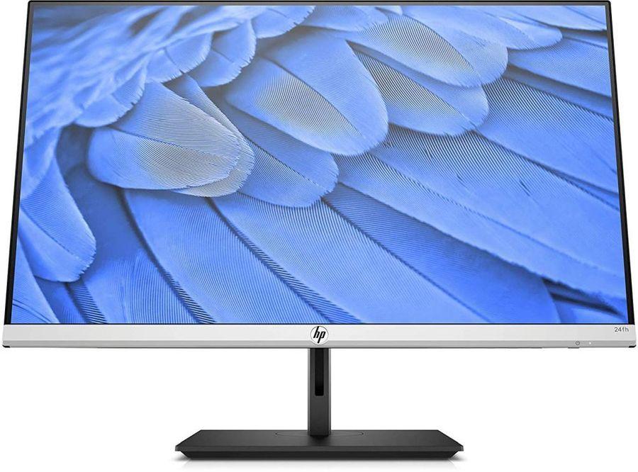 """Монитор HP 24fh 23.8"""", серебристый/черный и черный, отзывы владельцев в интернет-магазине СИТИЛИНК (1113266) - Элиста"""