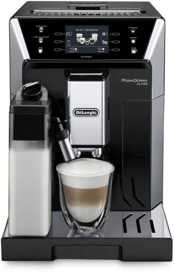 Кофемашина DELONGHI PrimaDonna Class ECAM550.55,  серебристый/черный