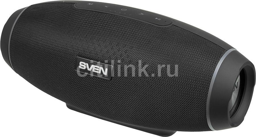 Портативная колонка SVEN PS-330,  30Вт, черный