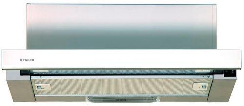 Вытяжка встраиваемая Faber Flox GLASS WH A60 белый управление: кулисные переключатели (1 мотор)