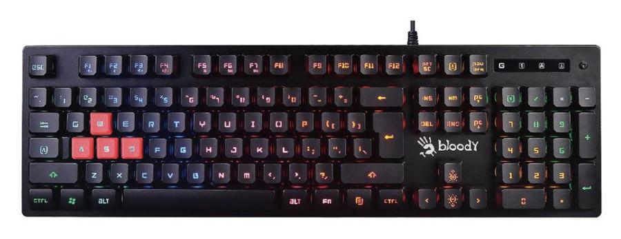 Клавиатура A4 Bloody B160N,  USB, черный