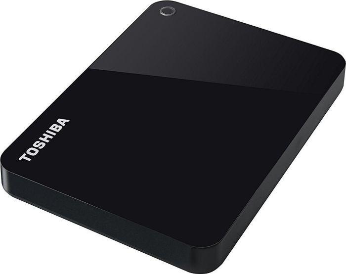 Внешний жесткий диск TOSHIBA Canvio Advance HDTC910EK3AA, 1Тб, черный