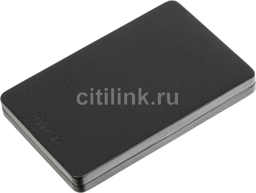 Внешний жесткий диск TOSHIBA Canvio Alu HDTH310EK3AB, 1Тб, черный
