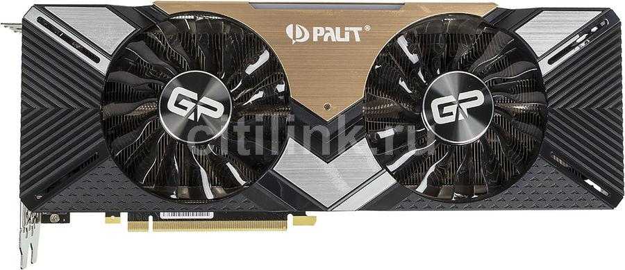 Видеокарта PALIT nVidia  GeForce RTX 2080Ti ,  PA-RTX2080Ti DUAL 11G,  11Гб, GDDR6, Ret [ne6208t020lc-150a]