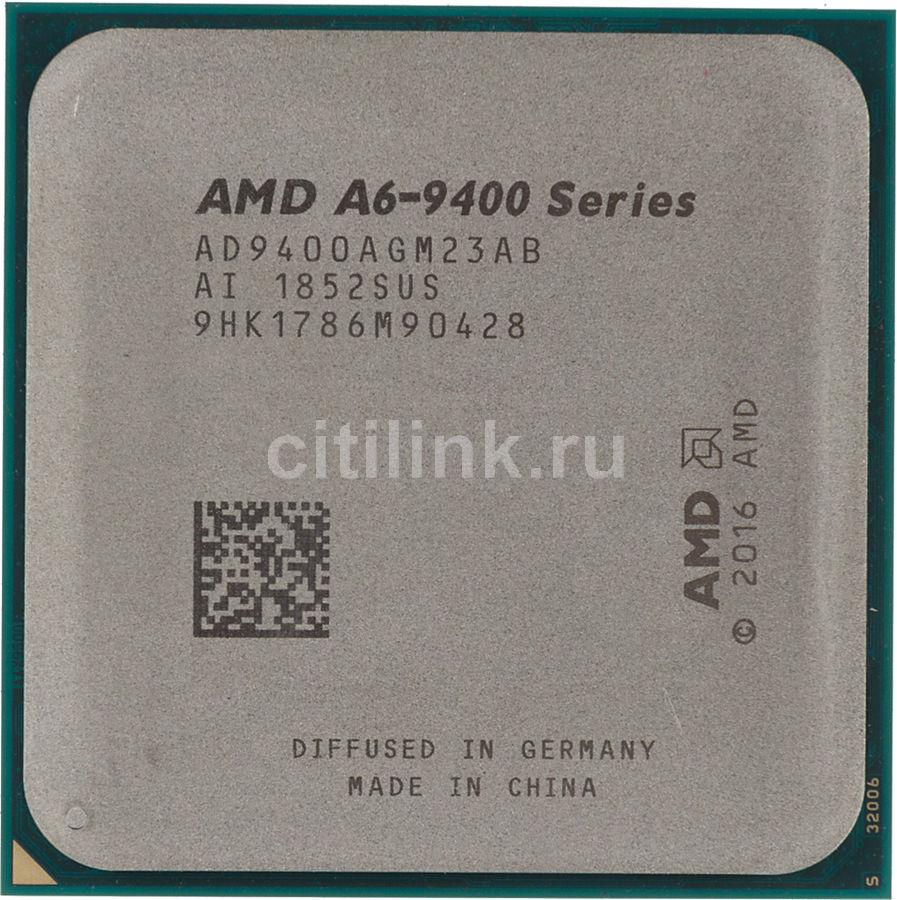 Процессор AMD A6 9400, SocketAM4,  OEM [ad9400agm23ab]