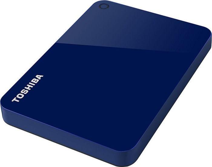 Внешний жесткий диск TOSHIBA Canvio Advance HDTC920EL3AA, 2Тб, синий