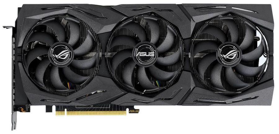 Видеокарта ASUS nVidia  GeForce RTX 2080 ,  ROG-STRIX-RTX2080-8G-GAMING,  8Гб, GDDR6, Ret