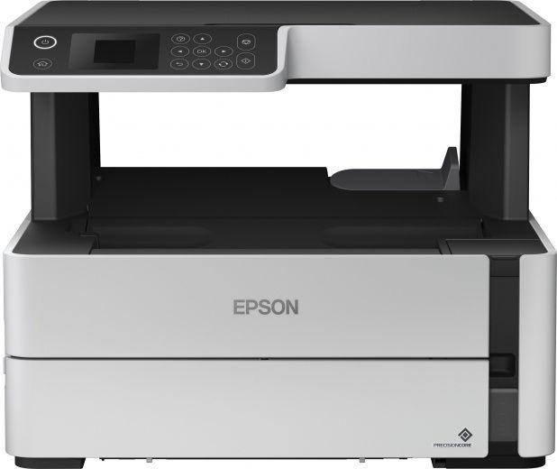 МФУ струйный EPSON M2140, A4, струйный, черный [c11cg27405]