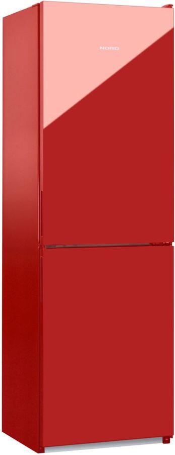 Холодильник NORD NRG 119 842,  двухкамерный, красное стекло [00000251785]