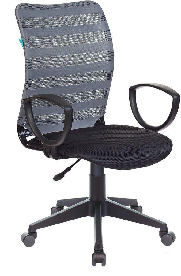 Кресло БЮРОКРАТ CH-599AXSN, на колесиках, ткань [ch-599axsn/32g/tw-11]