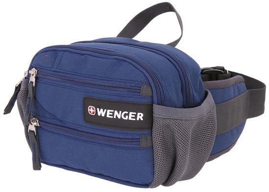 Сумка поясная Wenger 1828343016 синий 23x9x7см 0.3кг.