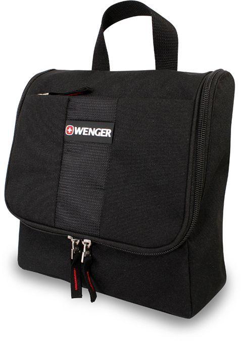 Несессер Wenger 608510 черный 22x24x8см 0.3кг.