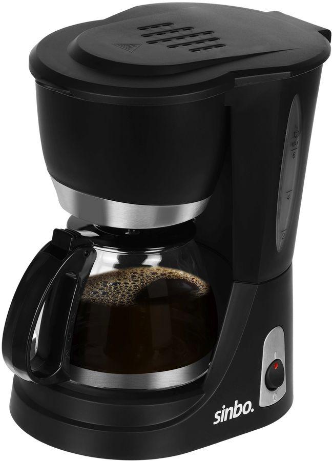 Кофеварка SINBO SCM 2952,  капельная,  черный