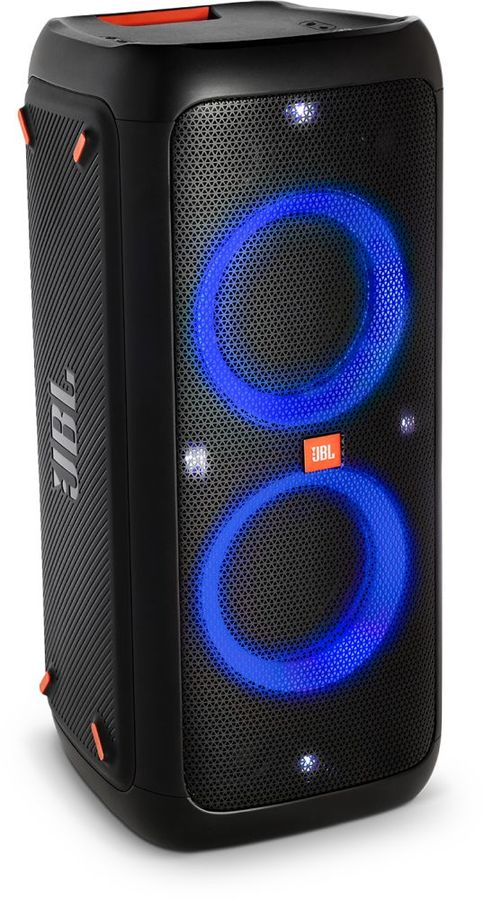 Портативная колонка JBL Party Box 200,  120Вт, черный  [jblpartybox200ru]