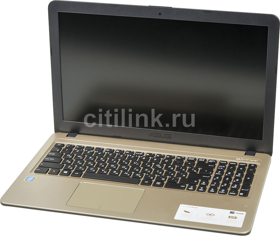 "Ноутбук ASUS VivoBook A540UA-DM1487, 15.6"",  Intel  Pentium  4417U 2.3ГГц, 8Гб, 128Гб SSD,  Intel HD Graphics  610, Endless, 90NB0HF1-M20960,  черный"