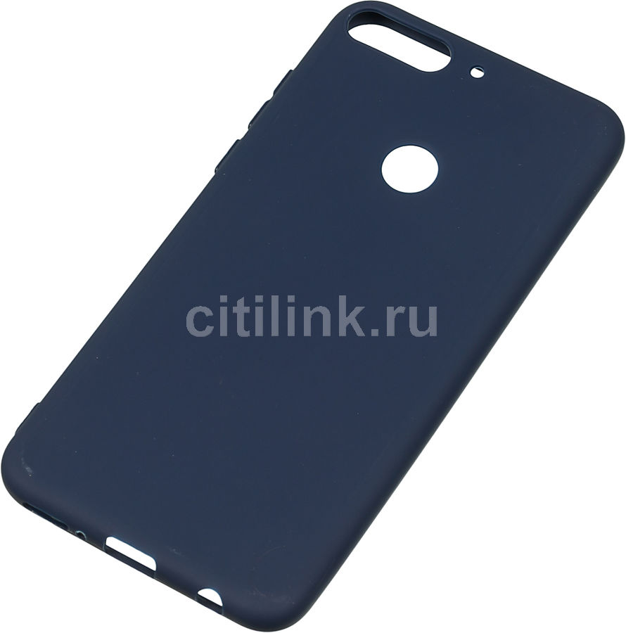Чехол (клип-кейс) GRESSO Meridian, для Huawei Honor 7C Pro, темно-синий [gr17mrn300]