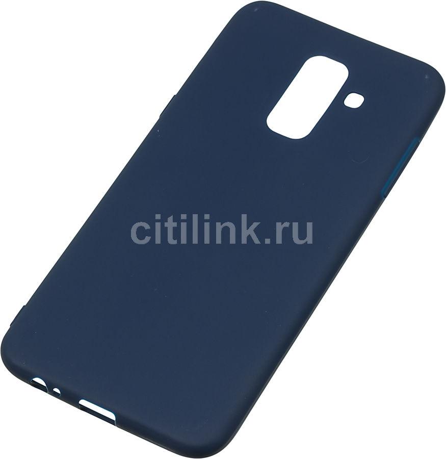 Чехол (клип-кейс) GRESSO Gresso Meridian, для Samsung Galaxy A6+ (2018), темно-синий [gr17mrn219]