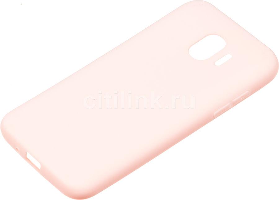 Чехол (клип-кейс) GRESSO Gresso Meridian, для Samsung Galaxy J2 (2018), розовое золото [gr17mrn067]