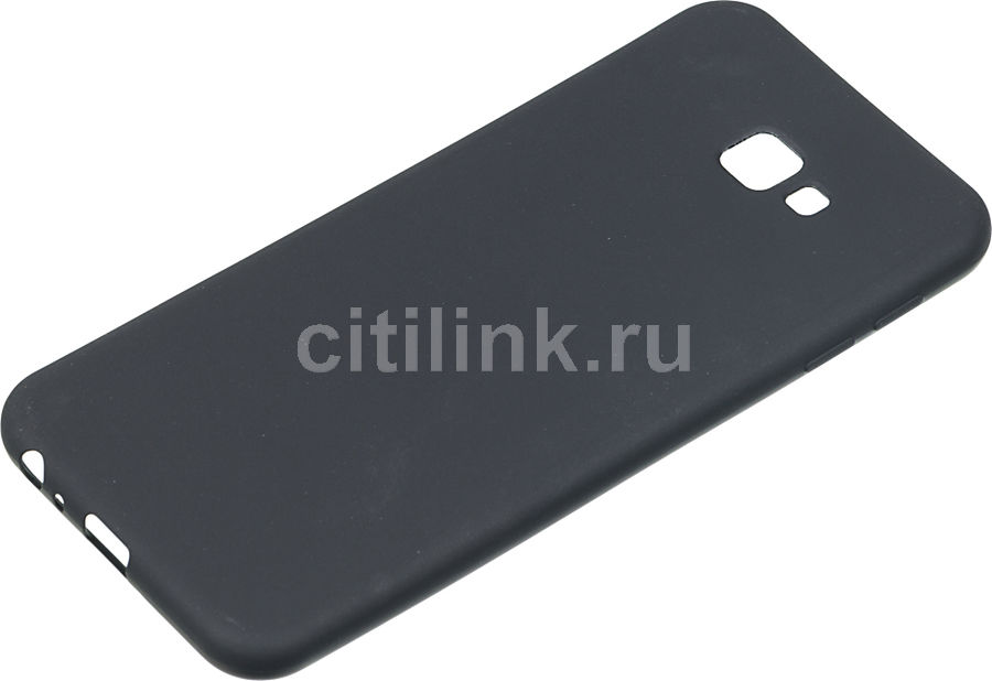 Чехол (клип-кейс)  Gresso Meridian, для Samsung Galaxy J4+ (2018), черный [gr17mrn418]