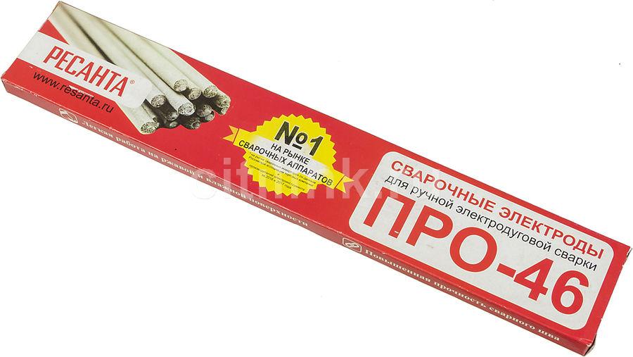 Электроды Ресанта ПРО-46, Ф3,0 D3мм L300мм 1000гр (71/6/36)