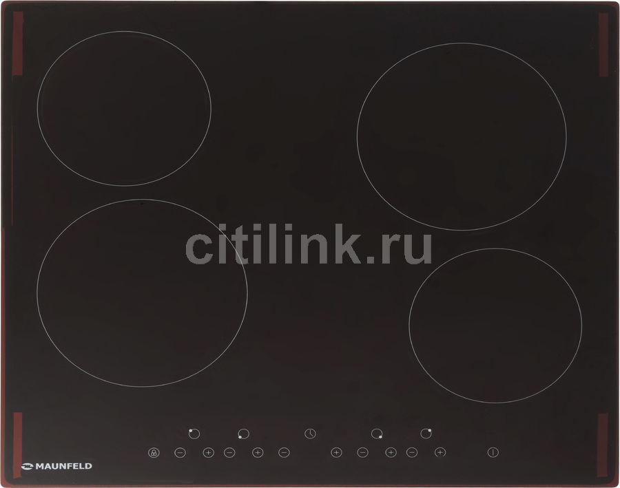 Варочная панель MAUNFELD EVCE.594-BK,  Hi-Light,  независимая,  черный