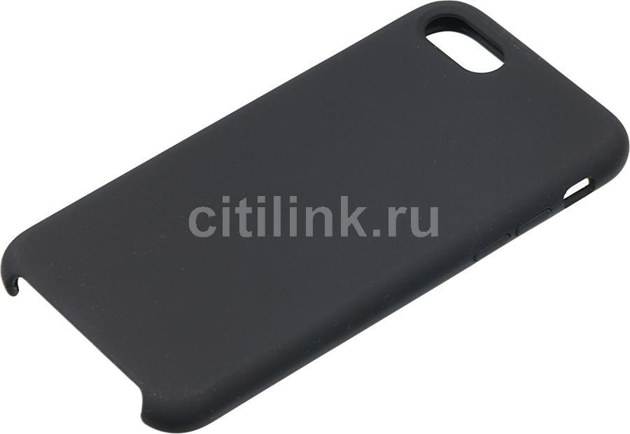 Чехол (клип-кейс)  Rubber, для Apple iPhone 7/8, черный [tfn-cc-07-006rubk]
