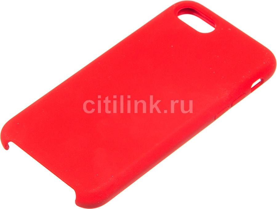 Чехол (клип-кейс)  Rubber, для Apple iPhone 7/8, красный [tfn-cc-07-006rured]