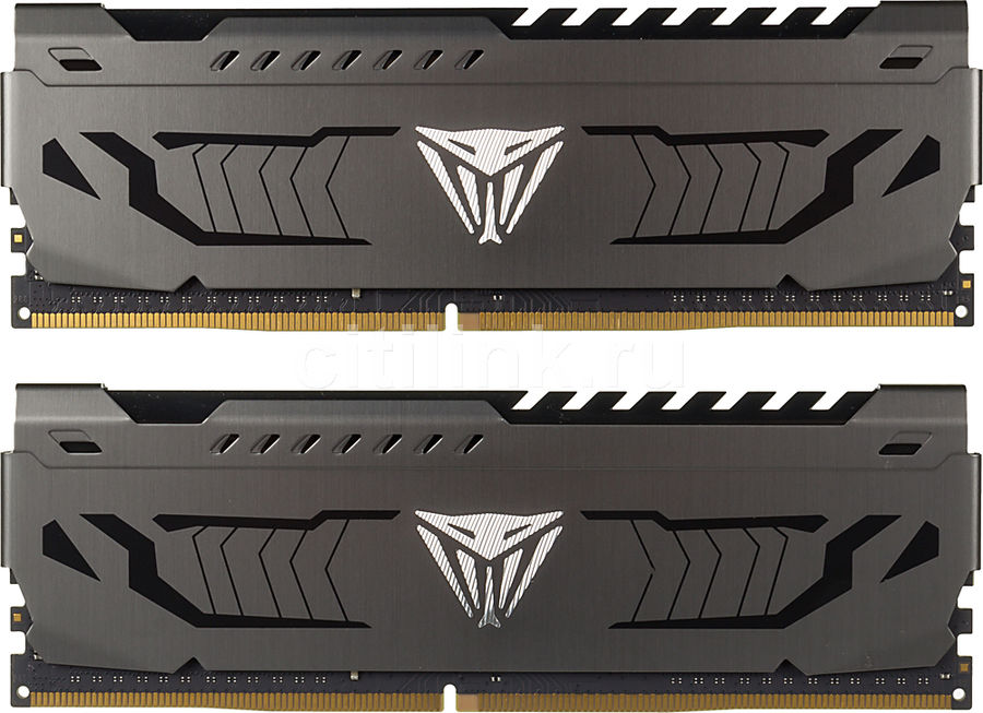 Модуль памяти PATRIOT Viper Steel PVS416G400C9K DDR4 -  2x 8Гб 4000, DIMM,  Ret