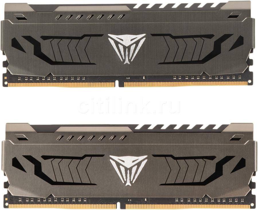Модуль памяти PATRIOT Viper Steel PVS416G413C9K DDR4 -  2x 8Гб 4133, DIMM,  Ret