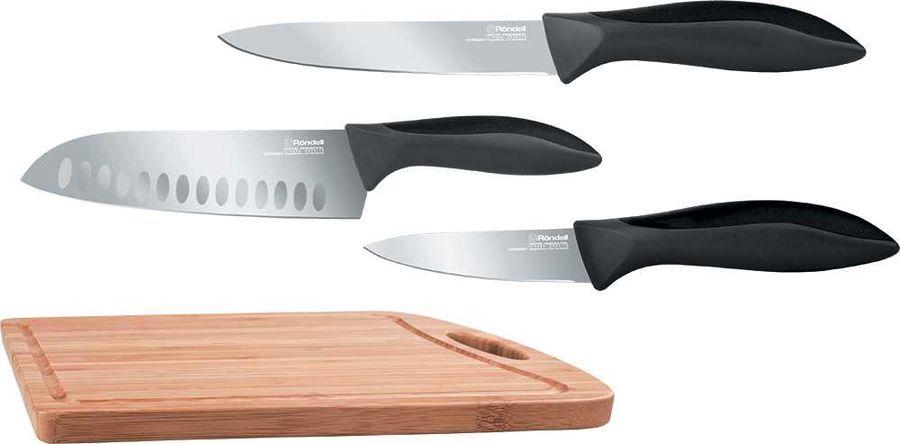 Набор ножей кухон. Rondell 0462-RD-01 серебристый блистер