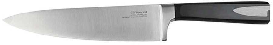 Нож Rondell 0685-RD-01 стальной лезв.200мм черный блистер
